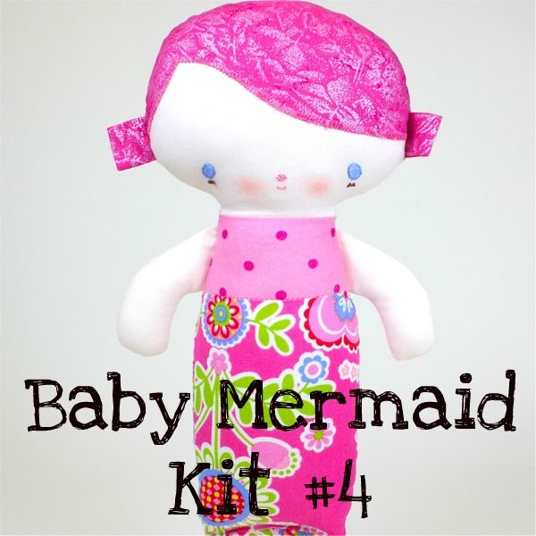 Baby Mermaid Kit #4